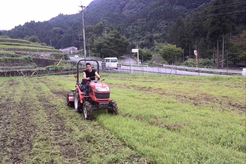 畑作業(トラクター)