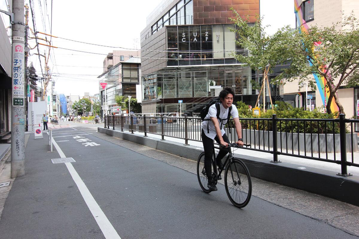 まちとしごととフィーリング原宿・表参道を自転車で駈けぬける街の不動産屋さん