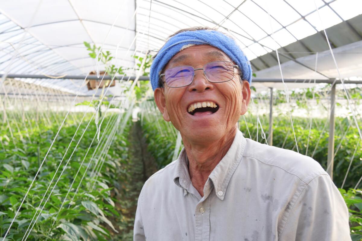 50年かけても未知の世界<br>限りない農業を<br>達人に学ぶ
