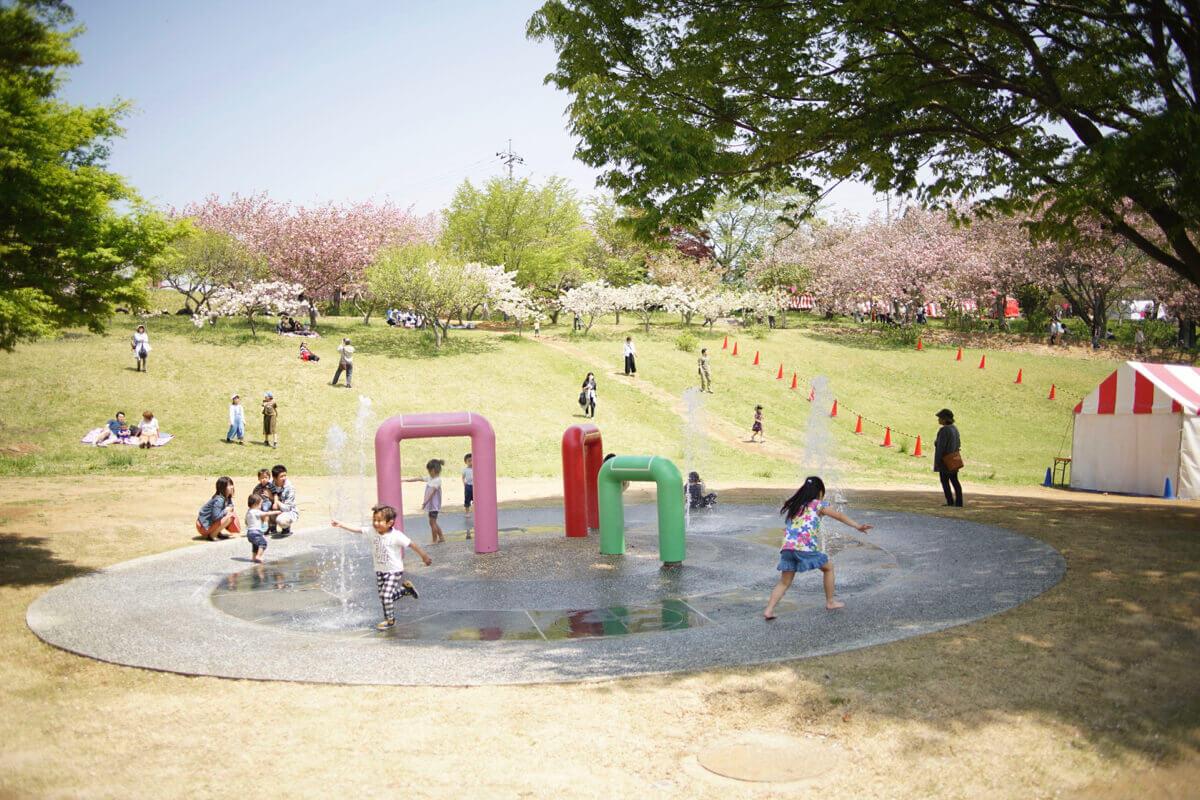 公園で遊ぼう! 桜の10日と、残りの355日 大きな余白を実験場に