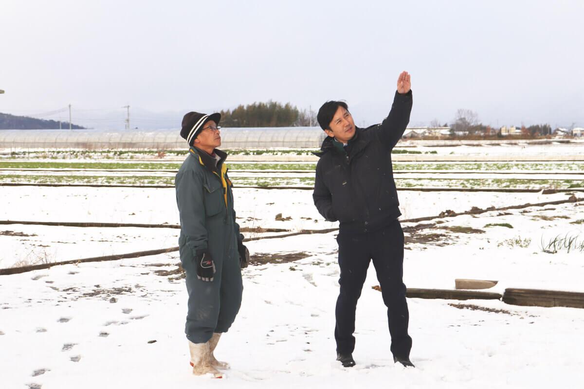 話して、聞いて 現場で見つける 農業の新しいニーズ