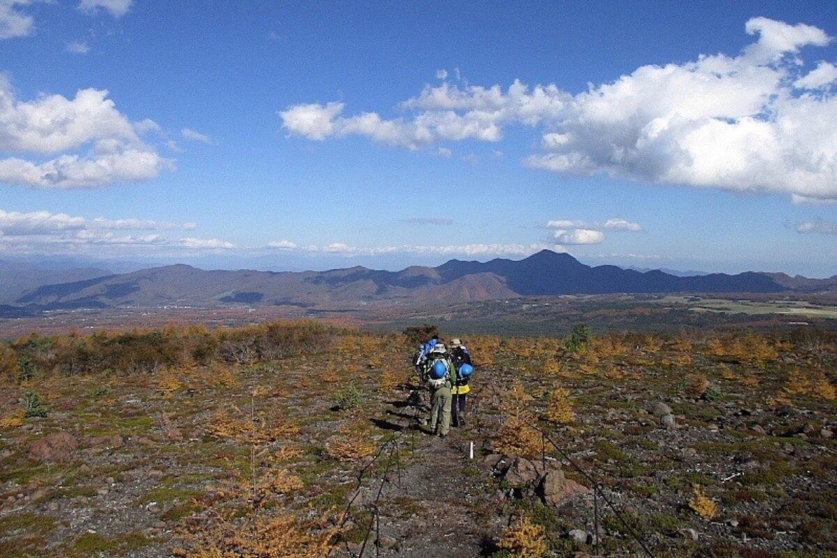 浅間山の北麓で日々表情を変える景色自然の移ろいを楽しむ