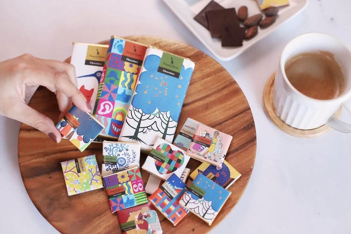 """カカオ豆からつくる""""好き""""を見つけるチョコレート"""